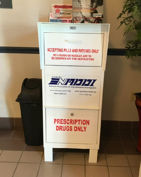 Drug Take Back Drop Box