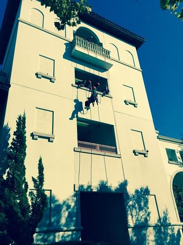 Rope Rescue from a building