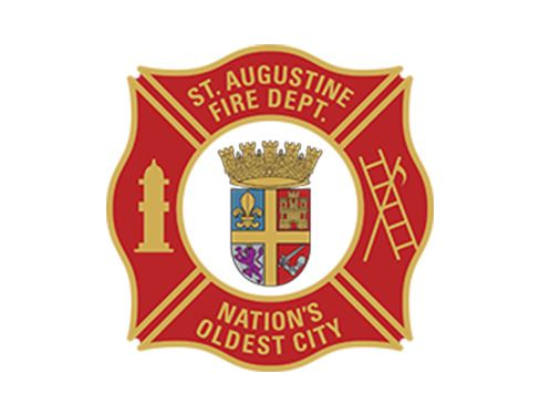St Augustine fire Department Logo