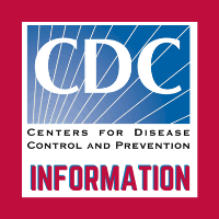square image with the logo for the Centers for Disease Control