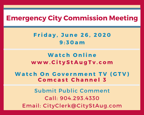 Emergency City Commission Meeting