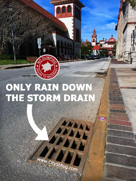 Only Rain Down the Storm Drain - No Dumping