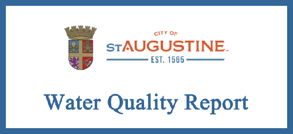Water Quality Report City of St. Augustine Report